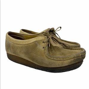 Clarks Original Wallabee Suede Crepe Sole Shoes